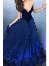 Sexy Prom Dresses V-neck Short Train Royal Blue Burgundy Long Velvet Prom Dress JKL470