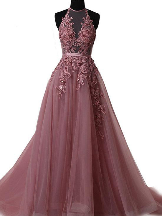 Lace Up Prom Dresses