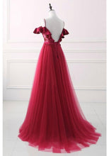 Beautiful Prom Dresses A-line Spaghetti Straps Sexy Prom Dress Long Evening Dress JKL760|Annapromdress