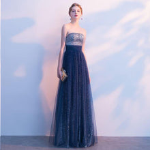 Beautiful Prom Dresses Strapless A-line Sexy Ombre Prom Dress Long Evening Dress JKL804|Annapromdress