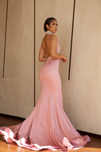 Mermaid Prom Dresses High Neck Trumpet Beautiful Prom Dress Sexy Evening Dress JKL921|Annapromdress