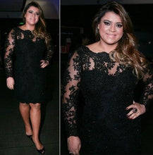 Plus Size Prom Dresses Little Black Dress Short Prom Dress Party Dress JKP010