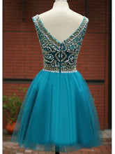 2017 Homecoming Dress Tulle Dark Green Short Prom Dress Party Dress JKS004