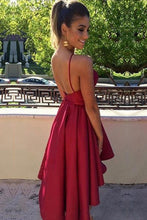 2017 Homecoming Dress Sexy Burgundy Backless Short Prom Dress Party Dress JKS041