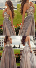 Beautiful Prom Dresses Sweetheart A-line Floor-length Sexy Prom Dress/Evening Dress JKS190