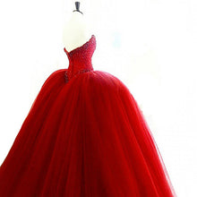 Burgundy Wedding Dresses Ball Gown Sweep/Brush Train Royal Blue Sexy Bridal Gown JKS241