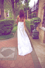Open Back Wedding Dresses Cheap Beautiful Short Train Sexy Ivory Lace JKW033|Annapromdress