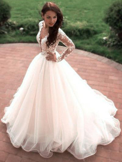 Sexy Short Wedding Dresses with Long Sleeves