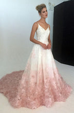 Lace Wedding Dresses Ball Gown Sweep/Brush Train Sexy Bridal Gown JKW126