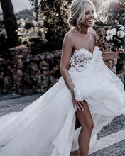 Beautiful Wedding Dresses A Line Sweetheart Appliques Sexy Princess Bridal Gown JKW316|Annapromdress