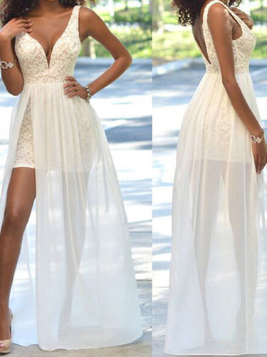 cheap prom dresses Sheath/Column Straps Floor-length Chiffon Prom Dress/Evening Dress #MK031