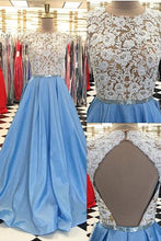 Mermaid prom dress ?Lace Short Sleeve Long Prom Dress Evening Dress MK0504