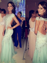 Beautiful Prom Dress Off-the-shoulder Backless Prom Dress/Evening Dress MK603