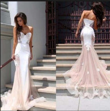 Chic Prom Dresses Sweetheart Trumpet/Mermaid Long Sexy Prom Dress/Evening Dress JKL125