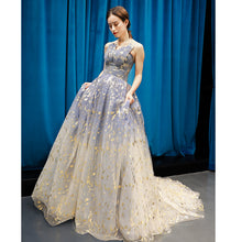 Ball Gown Strapless Sparkly Prom Dress Long Brush/Sweep Train Prom/Evening Dress YSR0017
