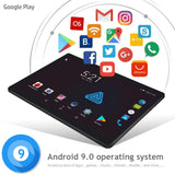 10 inch Tablet PC Octa Core 4G FDD LTE 6GB RAM 64GB ROM Dual SIM Cards Android 9.0 GPS tablet 10 10.1 + Gifts Free Shipping