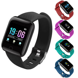 116 Plus SmartWatch Heart Rate Bluetooth Smart Watch Wristband Men Women D13 Sports Watch For Android Apple Phone