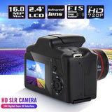 2.4'' HD 1080P SLR Camera CMOS Dry Battery Domestic Telephoto Digital Camera Portable Digital Fixed Lens 16X Zoom AV Interface