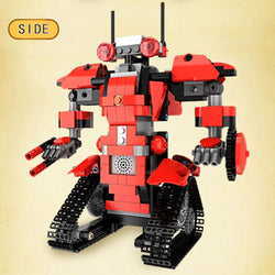 392pcs M1 4CH Remote Control DIY RC Building Blocks Robert Robot Toys Creative Bricks with 360Rotate in Situ for Gift Kids