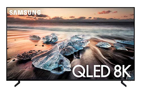 Samsung QN82Q900RBFXZA Flat Screen 82-Inch QLED 8K Q900 Series Ultra HD Smart TV with HDR and Alexa Compatibility (2019 Model)