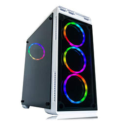 Gaming PC Desktop Computer White by Alarco Intel i5 3.10GHz,8GB Ram,1TB,Windows 10 pro,Video Card