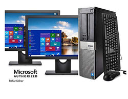 Dell Optiplex 790 Core i5 3.1GHz, 1TB Hard Drive, 16GB Memory, Windows 10 x64, Dual 19 Monitors (Renewed) - Free + Shipping