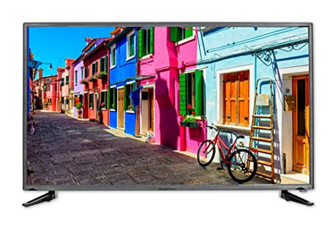 Sceptre Slim 40 Inch 1080p LED TV with Build in DVD Player E415BD-FR, TV-DVD Combo True Black (2017)