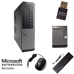"Dell Optiplex 7010 Compatible Wireless Desktop Computer PC Intel Quad Core i5 3.4-GHz, 16 gb Ram, 2 TB HDD, DVDRW Drive, WiFi, Windows 10 Professional ""Pro"" (Renewed)"