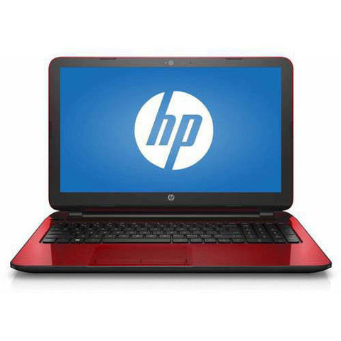 "HP Flyer Red 15.6"" 15-f272wm Laptop PC with Intel Pentium N3540 Processor, 4GB Memory,"