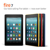 "Amazon Fire 7 Tablet with Alexa (7"" Display, 16 GB) Black - with Special Offers - Free + Shipping"
