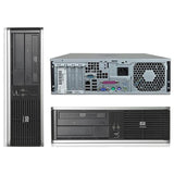 "HP Desktop Computer Bundle Tower PC Core 2 Duo Processor 4GB RAM 160GB Hard Drive DVD-RW Wifi with Windows 10 and a 19"" LCD Monitor- 1 Year Warranty! - Free + Shipping"