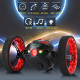 GBlife 2.4Ghz Wireless Remote Control Jumping RC Toy Cars Bounce Car No WiFi for Kids (Black)