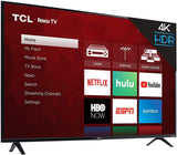 TCL 43S425 / 43S423 43-Inch 4K Ultra HD Smart Roku LED TV (2018) (Renewed)