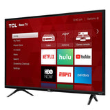 TCL 32S327 32-Inch 1080p Roku Smart LED TV (2018 Model) - Free + Shipping - Free + Shipping