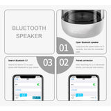 C7 Portable Bluetooth 5.0 Speaker Transparent LED Luminous Subwoofer TWS 6D Surround HIFI Stereo Cool Audio For Mobile Phone