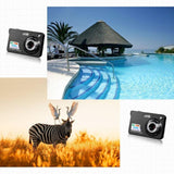 DC530 2.7'' TFT LCD HD 720P 18MP Digital Video Camera Camcorder with 8X Digital Zoom Anti shake 5MP CMOS Sensor