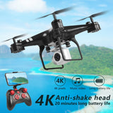Drone 4k camera HD Wifi transmission fpv drone air pressure fixed height four axis aircraft rc helicopter drone with camera