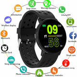 W8 IPS 2.5D Screen Custom Dial Dynamic Heart Rate Sport Message Push bluetooth Magnetic Dock Clamp Charger Smart Watch