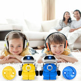 Infrared Remote Control Cans Robot Led Light Singing Dancing RC Robot Toy Children'S Entertainment Kids Remote Control Robot