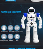 New Design Learning Partner RC Robot Intelligent Mechanical Remote Control Programming Toys Suit For Gifts to Children ASSOT
