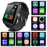 Smartwatch Bluetooth For IOS Android Smart Phone Sleep Monitor Fitness Tracker Clock Wearable Device Sport Smart Watch U8