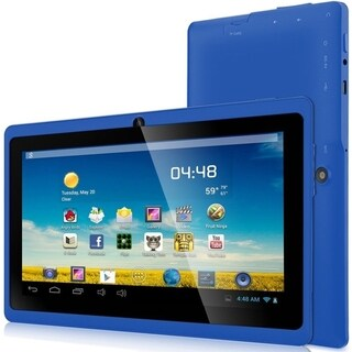 "Zeepad 7DRK-Q Tablet - 7"" WVGA - 512 MB RAM - 4 GB Storage - Android 4.4 KitKat - Blue - Free + Shipping"
