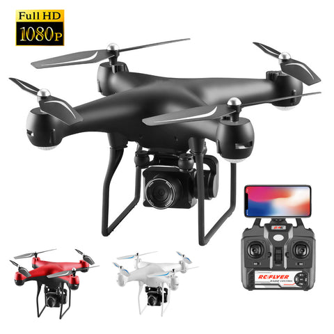 RC Helicopter Foldable Drone WIFI FPV With ESC Camera 4K HD 1080P RC Drone Four Axis Aerial Remote Control Quadcopter Aircraft