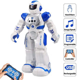 RC Remote Control Robot Smart Action Walk Sing Dance Action Figure Gesture Sensor Toys Gift Robot USB Charging Dancing for child