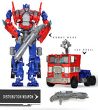 Top Sale 19cm Big Plastic Educational Transformation Robot  action figure toys for children boys deformation car model Toys gift