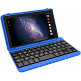 "Premium High Performance RCA Voyager Pro 7"" 16GB Touchscreen Tablet With Keyboard Case Computer Quad-Core 1.2Ghz Processor 1G Memory 16GB Hard Drive Webcam Wifi Bluetooth Android 6.0-Blue - Free + Shipping"
