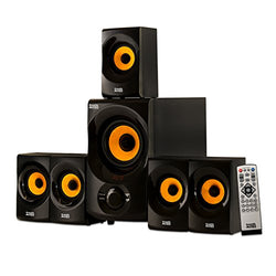 RCA Acoustic Audio AA5170 Home Theater 5.1 Bluetooth Speaker System 700W with Powered Sub