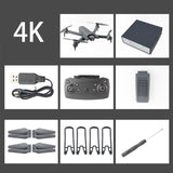 Drone 4K with Camera HD video live RC Helicopter Foldable Drones FPV Quadrocopter Drone X Pro Dron VS Dron  E58 E520S Toys