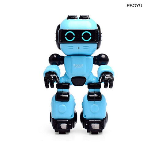 Smart RC Robot Toy Intelligent Growth Up Robot Music Dance Message Record RC Robot Pet Toy for Kids Gift