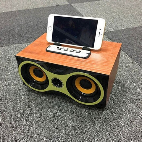 Thzio Wireless Wooden Bluetooth Speaker Hifi soundbar subwoofer Home Theater Music center loudspeaker AUX FM MP3 Music Boombox on AliExpress